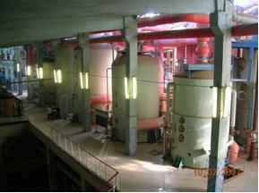 Подсистема управления выпарной и конденсатной установками