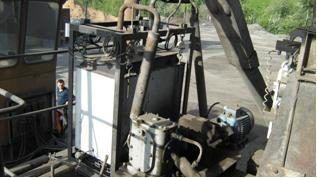 Система автоматизированного управления технологическим процессом приготовления асфальтобетонной смеси ВД-09