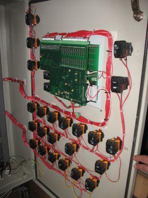 Автоматизированная система управления бетонно-растворной установкой – ВДК-02